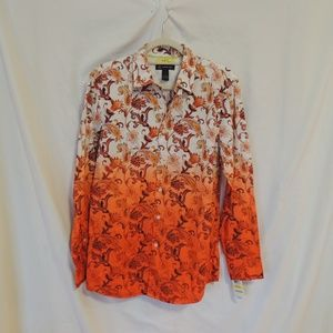INC International Concepts Slim Fit L/S Shirt M